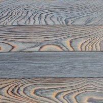 La madera carbonizada, el tratamiento de la madera japonés