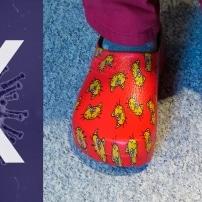 Bacterias no, zapatillas sí