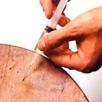 Pequeñas intervenciones caseras  en tratamientos de madera